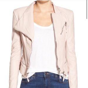 Blank NYC Blush Pleather Jacket